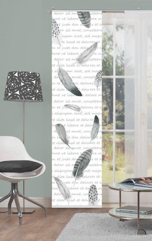 home wohnideen schiebegardine fedo blickdicht bewertungen. Black Bedroom Furniture Sets. Home Design Ideas