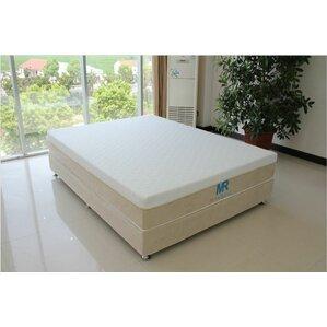 MaxRest Gel-Infused Memory Foam Medium Feel Hypoallergenic Mattress Protector by Luxury Home