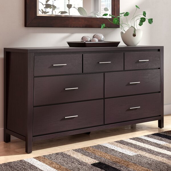 Incroyable Latitude Run Thierry Espresso 7 Drawer Dresser U0026 Reviews | Wayfair