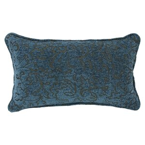 Floral Jacquard Chenille Lumbar Pillow (Set of 2)
