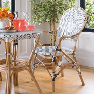 Tawanna Rattan Arm Chair (Set of 2)