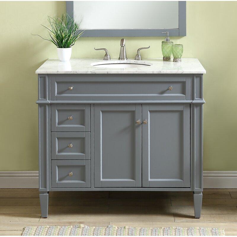 Darby Home Co Beetwood 40 Single Bathroom Vanity Set Reviews