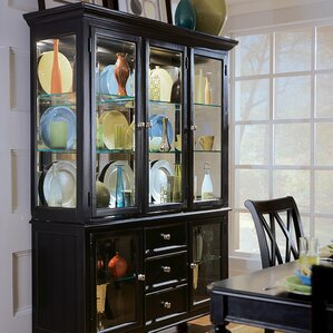 Weylyn Lighted China Cabinet by Darby Hom..