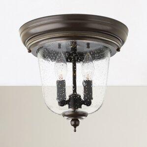 drumakeely 2light outdoor flush mount - Outdoor Ceiling Lights