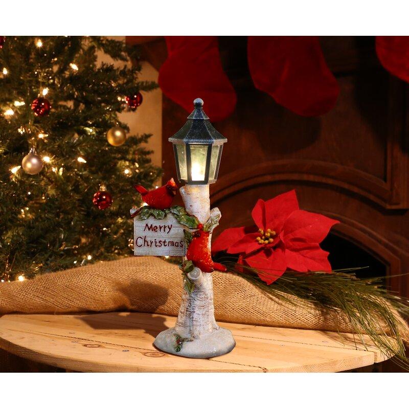 cardinal street lamp