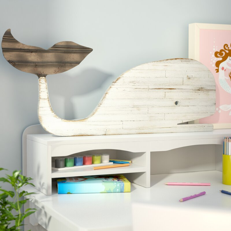 3D Wall Decor Carrcroft Distressed Slat Whale Silhouette 3D Wall Decor & Reviews .