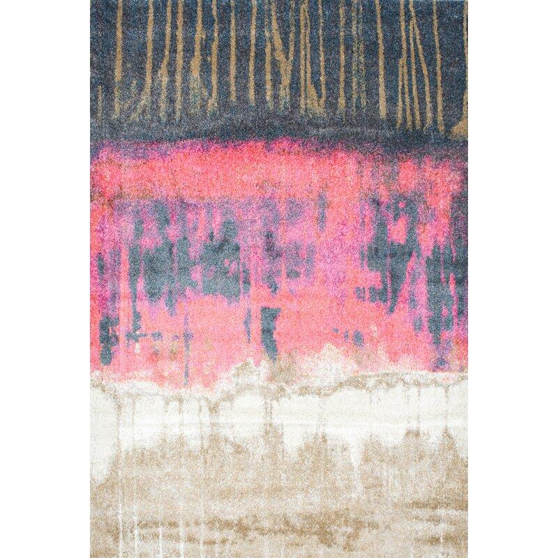 Wrought Studio Tabris Pink Area Rug & Reviews