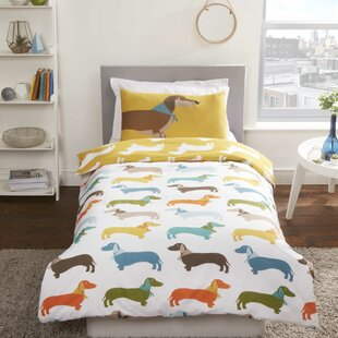 Sausage Dog 56 TC Duvet Cover Set