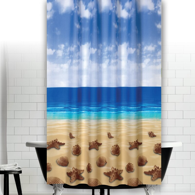 Tropik Home Beach Shower Curtain