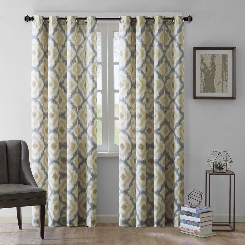 bedroom curtains.  Curtains Drapes You ll Love Wayfair