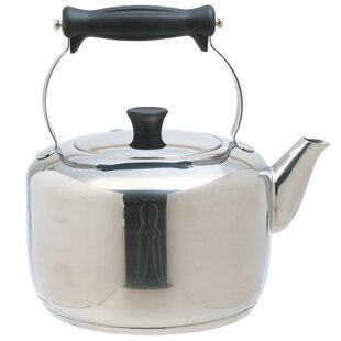 Mastercl Induction Safe Stainless Steel Stovetop Kettle