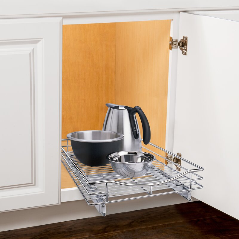 Attractive Lynk Professional® Roll Out Cabinet Organizer   Pull Out Under Cabinet  Sliding Shelf