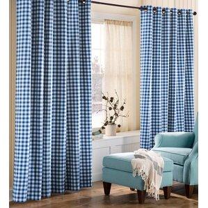 Check U0026 Plaid Curtains U0026 Drapes Youu0027ll Love | Wayfair