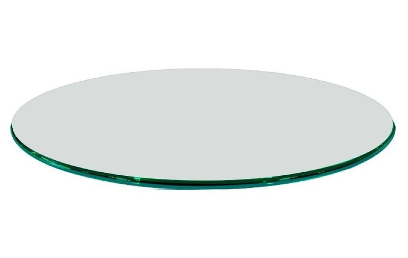 fab glass and mirror round tempered glass table top wayfair rh wayfair com tempered glass table top price tempered glass table top philippines