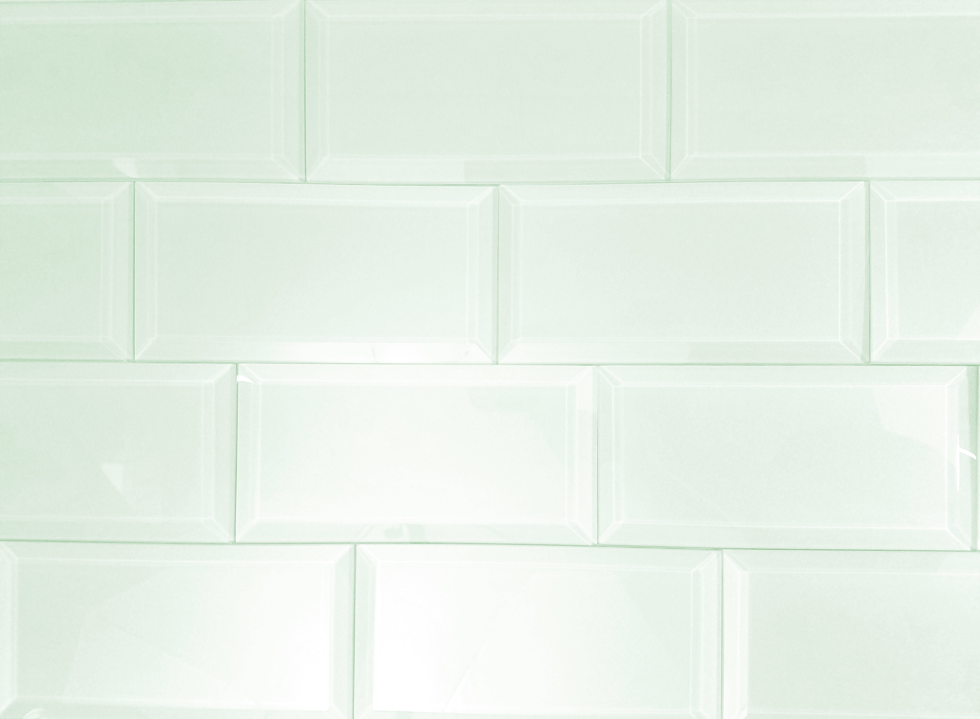 Abolos allmodern frosted elegance 3 x 6 glass peel stick subway tile in green dailygadgetfo Images