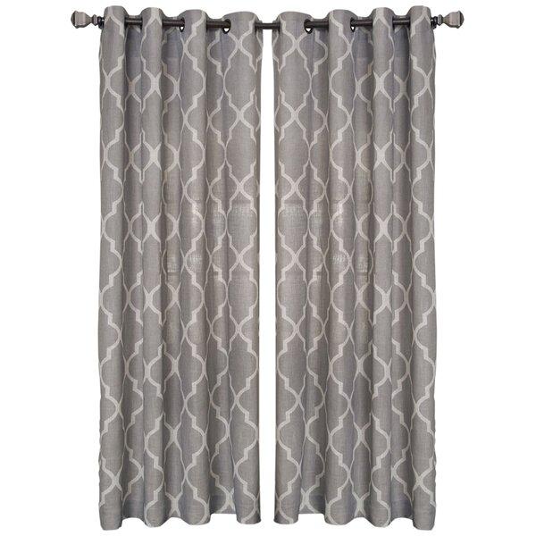 Andover Mills Horatio Medalia Single Curtain Panel Reviews
