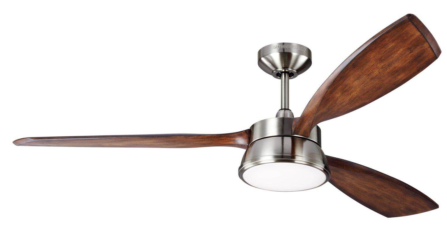 Laurel foundry modern farmhouse 57 fougeres 3 blade outdoor 57 fougeres 3 blade outdoor ceiling fan with remote aloadofball Choice Image