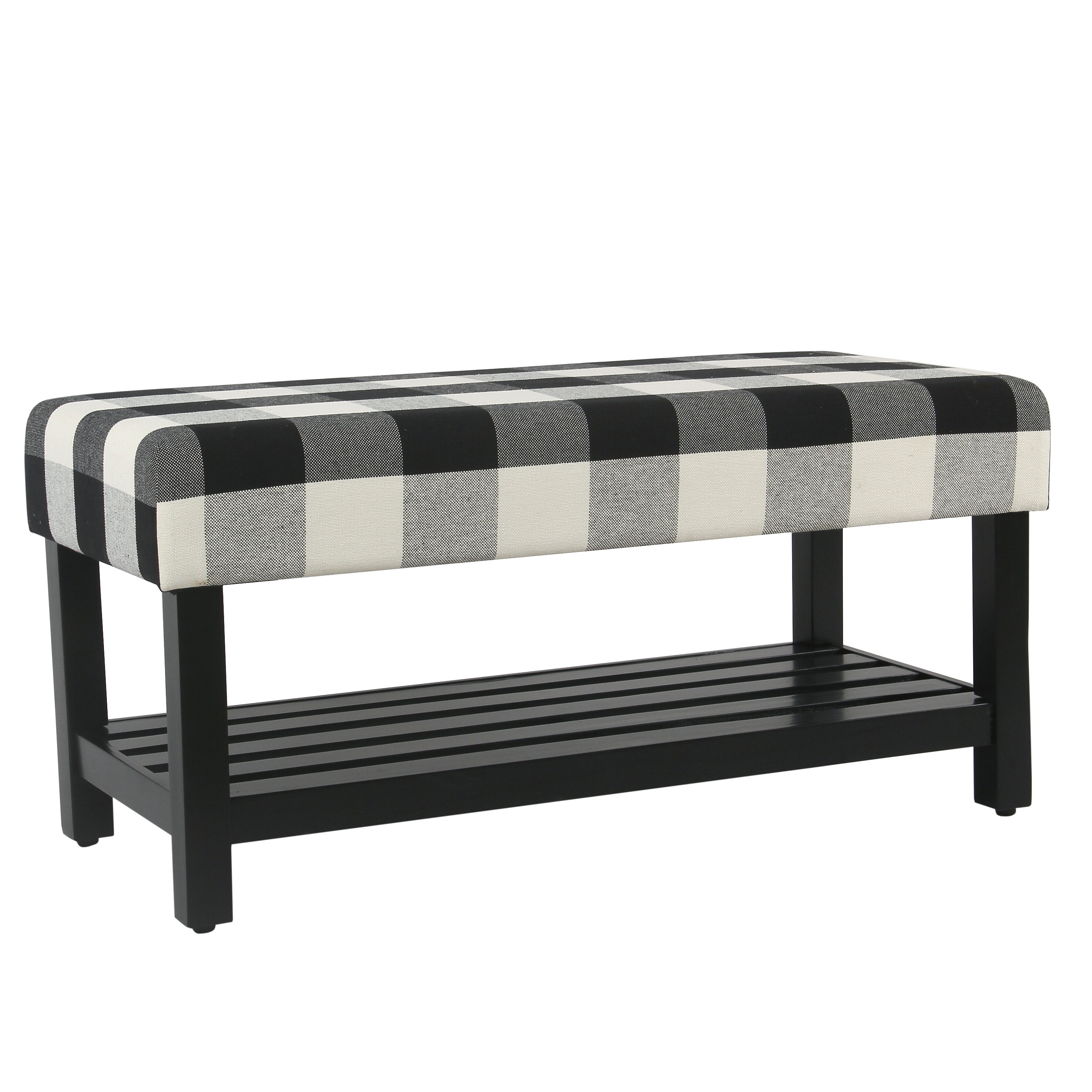 Gracie Oaks Prudhomme Decorative Upholstered Storage Bench Reviews Wayfair