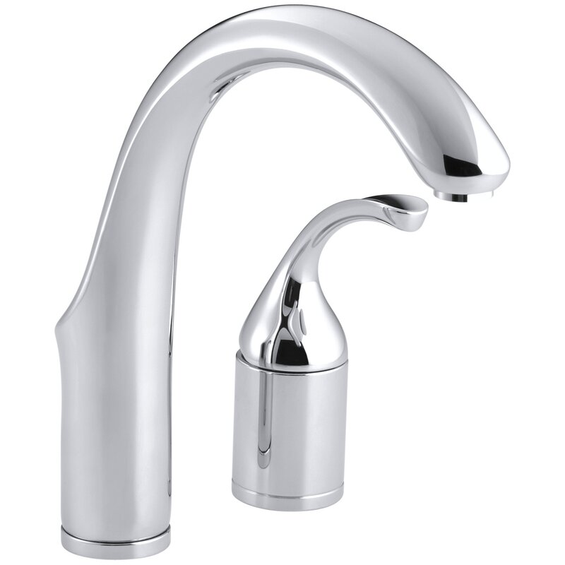 K-10443-BN,BV,CP Kohler Forté Two-Hole Bar Sink Faucet with Lever ...