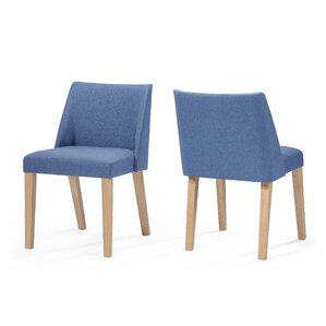 Aine Fabric Side Chair (Set of 2) by Ebern Designs