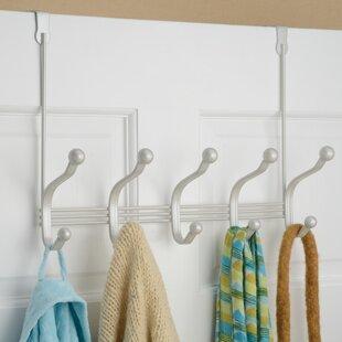 Eisenman Over-the-Door Rack & Over the Door Hooks Youu0027ll Love | Wayfair