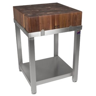 Cucina Americana Kitchen Island with Butcher Block