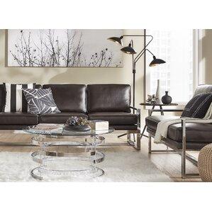 Adalbert 2 Piece Metal Living Room Set