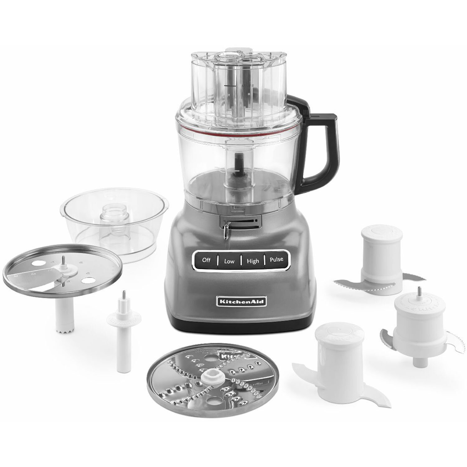 Kitchenaid 9 Cup Food Processor With Exactslice System And External Adjule Lever Reviews Wayfair