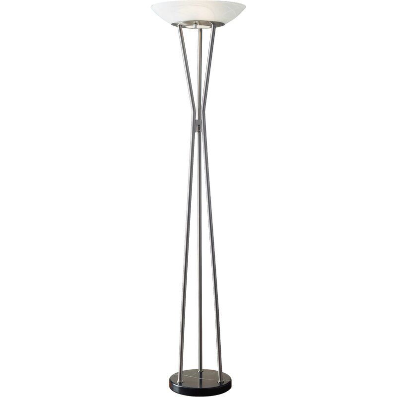 Adesso gemma 7175 torchiere floor lamp reviews wayfair gemma 7175 torchiere floor lamp aloadofball Gallery