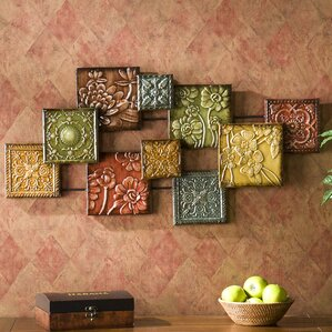 Panel Wall Decor metal wall art - wall décor | wayfair