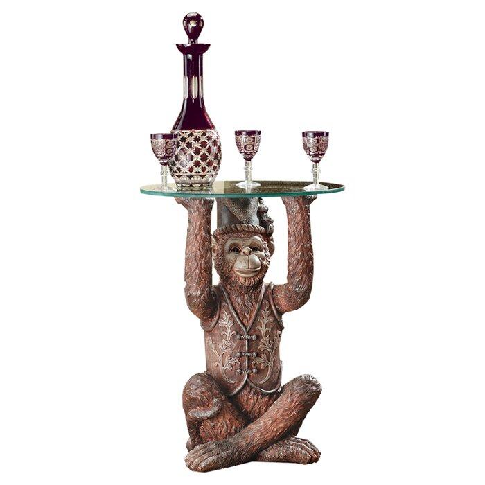 Bon Moroccan Monkey Business Sculptural End Table