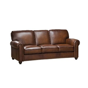 Aspen 3 Piece Leather Living Room Set by Amax