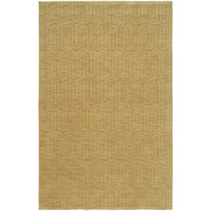 Chatterjee Hand-Woven Gold Area Rug