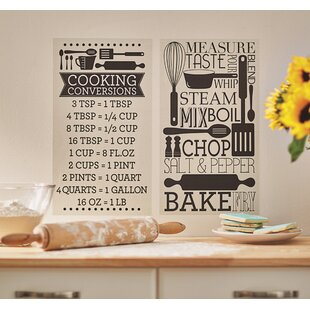 Temple Cloud Cooking Conversions Wall Decal