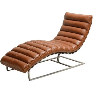 100 chaise lounge new brown leather black leather for Bellagio 100 leather chaise