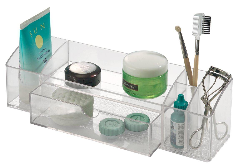 Design Cosmetic Organizer interdesign cosmetic organizer reviews wayfair organizer