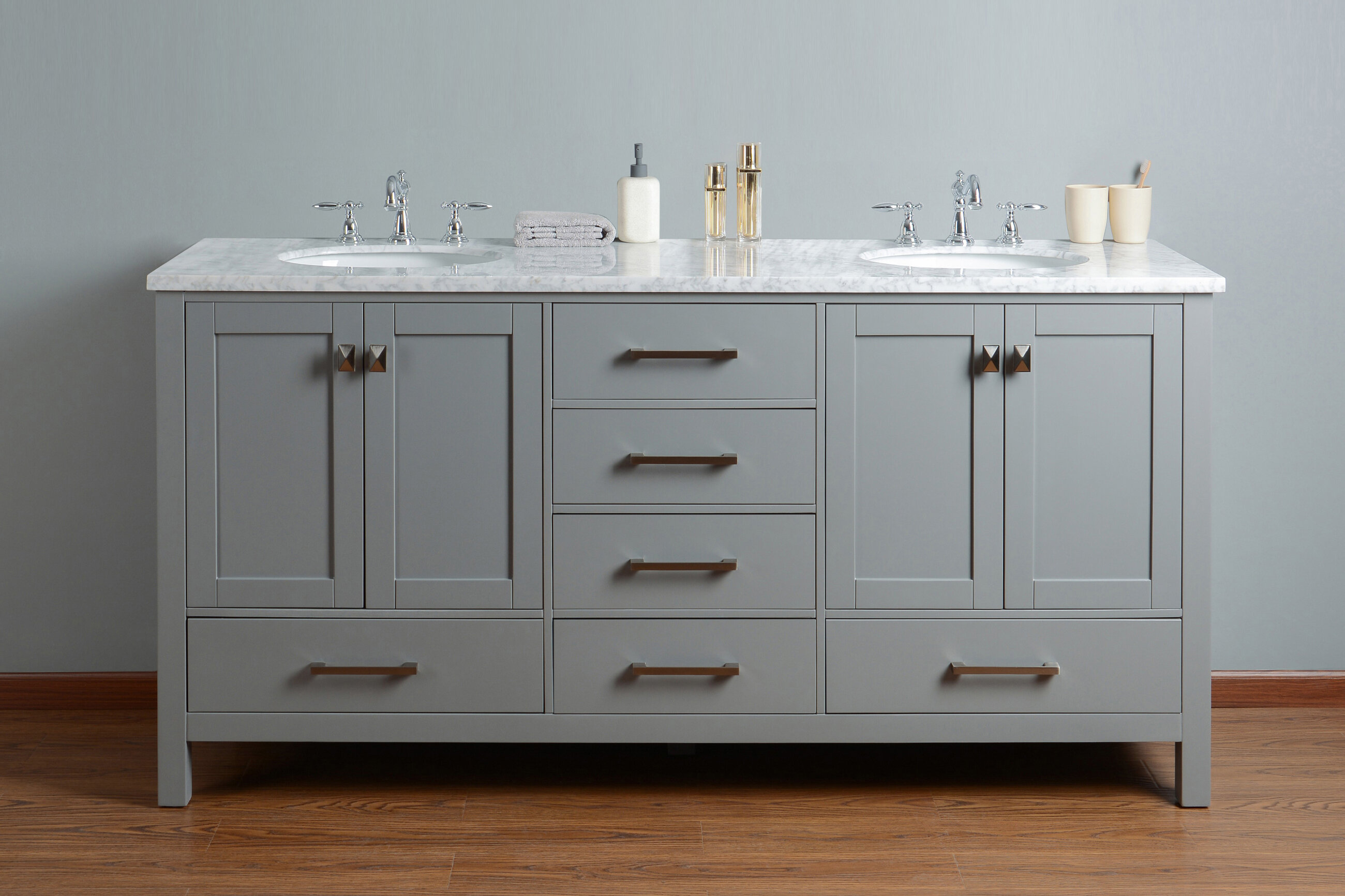 bathroom wood classy pertaining charcoal to vincent double solid home buy in sink your vanity inch inspiration