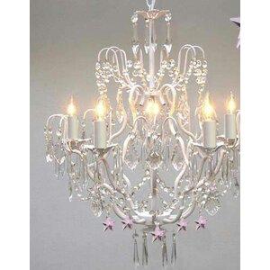 5-Light Crystal Chandelier