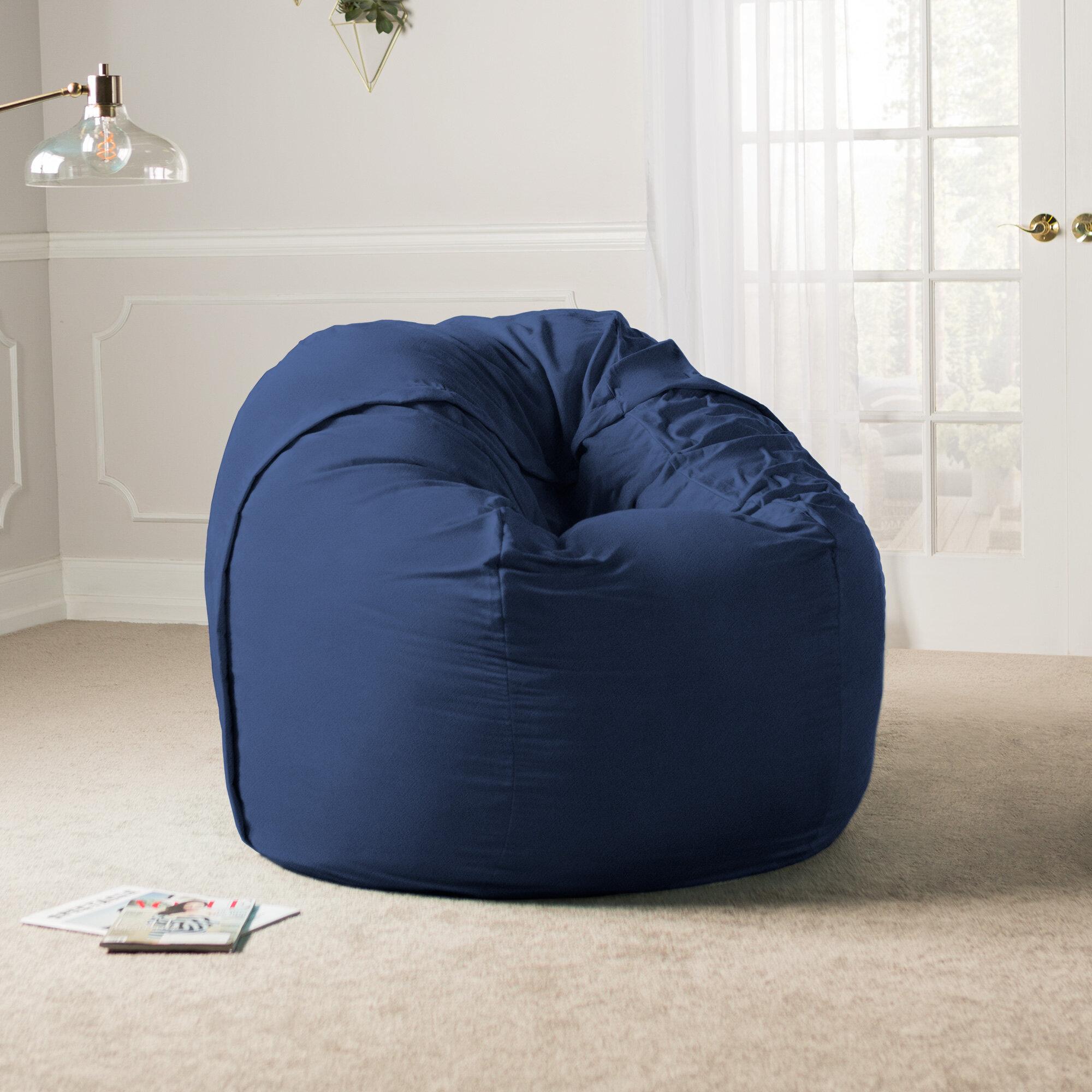 Latitude Run Giant Bean Bag Chair & Reviews | Wayfair.ca