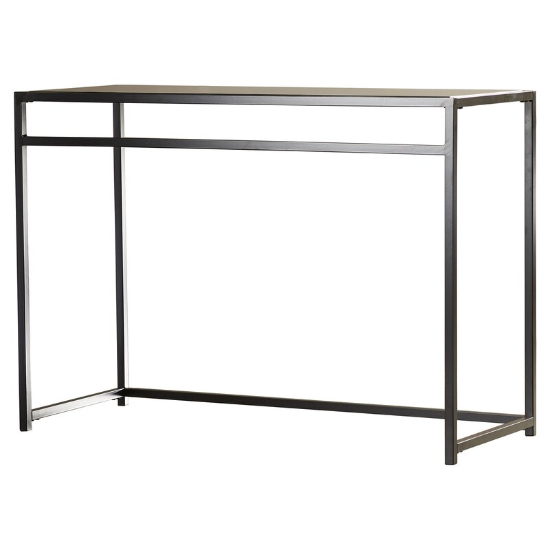 Burke Glass 3 Piece Console Table Set  sc 1 st  AllModern & Burke Glass 3 Piece Console Table Set \u0026 Reviews | AllModern