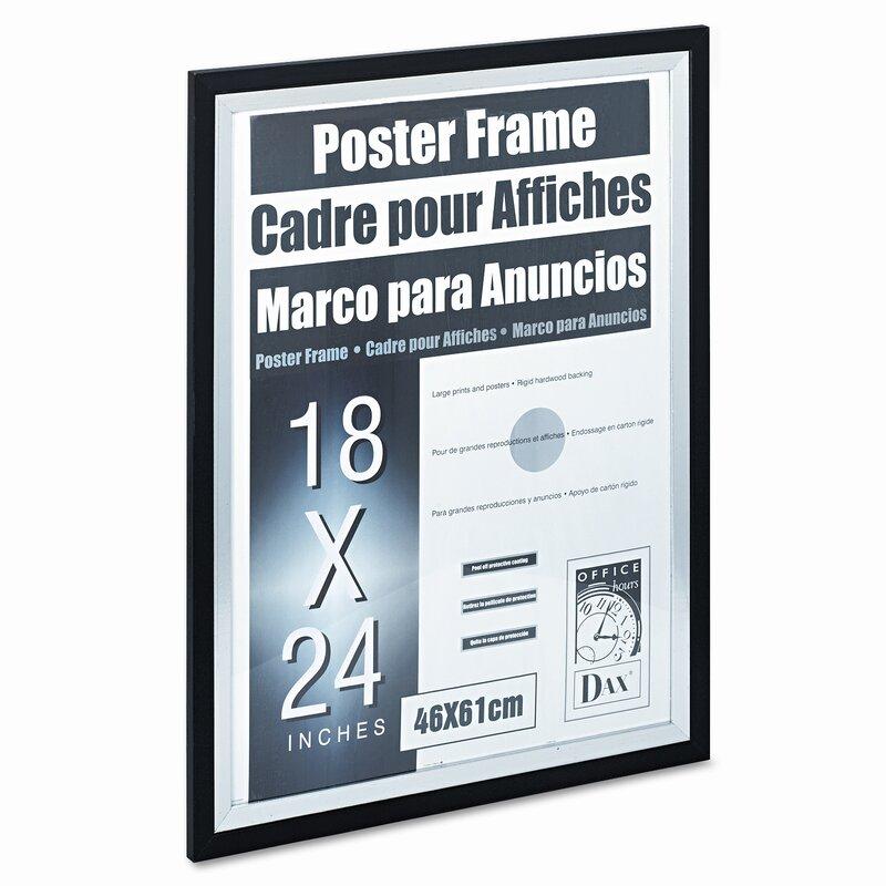 DAX MANUFACTURING INC. Metro Series Poster Wood Frame, 18\