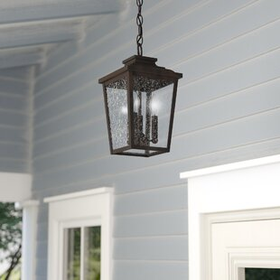 Outdoor hanging porch light wayfair mayhugh 3 light outdoor hanging lantern aloadofball Images