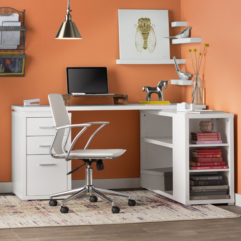 Senga L Shape Computer Desk Amp Reviews Allmodern