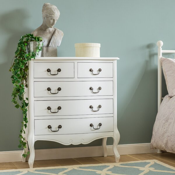 Lily Manor Lemaire 5 Drawer Chest Of Drawers Amp Reviews