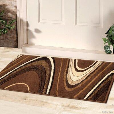 Chic Wave Designed Doormat AllStar Rugs