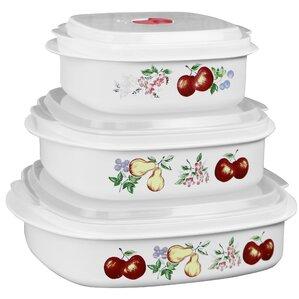 Impressions Chutney 3 Container Food Storage Set