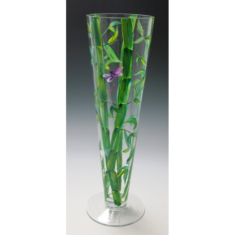 Christinashandpainted Beautiful Bamboo Vase Wayfair