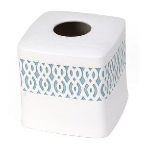 Watercolor Lattice Tissue Box Cover