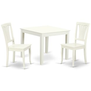 Lake Macquarie 3 Piece Solid Wood Dining Set