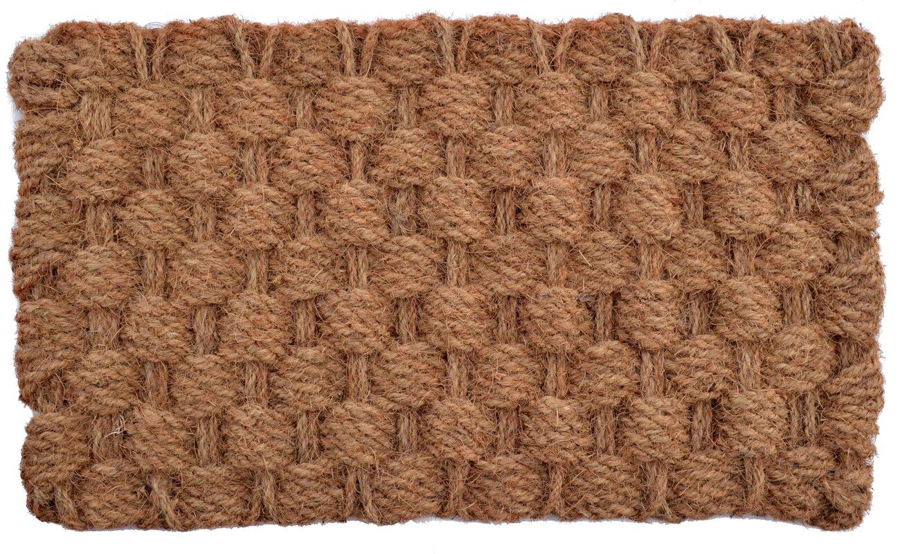 Marvelous Woven Admiral Rope Doormat